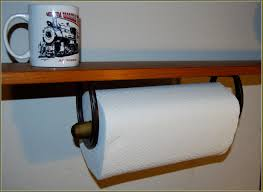 rustic paper towel holder kitchen home design ideas