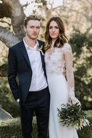 backyard wedding dresses modern backyard wedding with boho style once wed