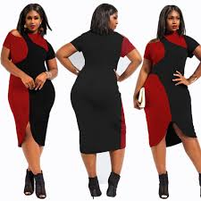 online wholesale plus size clothing cheap plus size club dresses