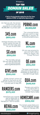 highest selling domain names of 2015 infographic