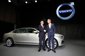 volvo cars geely volvo target world market with china built luxury car