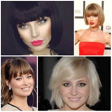 best bangs hairstyles for all face shapes u2013 haircuts and
