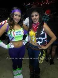 Buzz Lightyear Halloween Costume 10 Womens Halloween Costumes Couple Woody Costume