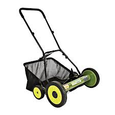 shop sun joe 20 in reel lawn mower at lowes com