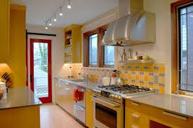 yellow kitchen theme ideas eglo lighting vogue other metro contemporary kitchen decoration