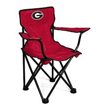 shop logo chairs georgia bulldogs 21 in kids chair at lowes com
