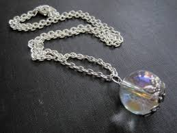 crystal ball pendant necklace images Crystal ball necklace vamps jewelry gothic victorian jewelry jpg