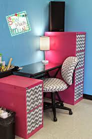 Chevron Desk Accessories Best 25 Chevron Desk Ideas On Pinterest Chevron Classroom