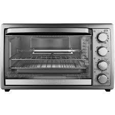 kitchenaid toaster oven black decker 9 slice rotisserie convection countertop oven