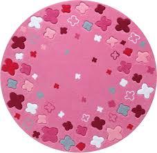 teppich rund rosa esprit teppich bloom field teppich kinderzimmer jetzt online