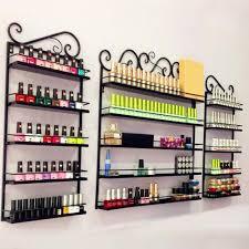amazon com go2buy metal nail polish wall rack 5 tier organizer