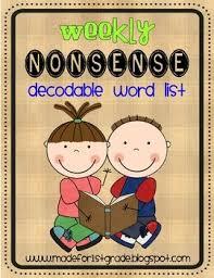 35 best nonsense word practice images on pinterest nonsense