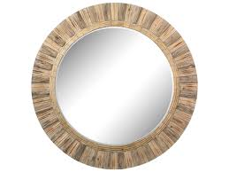 Home 64 by Dimond Home 64 Round Drift Wood Wall Mirror 51 10163 Dahlia