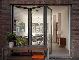 Folding Sliding Patio Doors Applying Sliding Pocket Doors For Small Space Classy Door Design