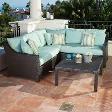 Patio Sectional Patio Sofas And Sectionals Style Pixelmari Com