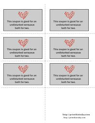 Printable Halloween Candy Coupons by Printable Love Coupons