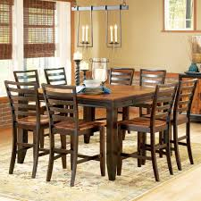 dining room sets leather chairs dining room improvement with counter height dining table sets