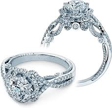 twisted halo engagement ring verragio halo twist engagement ring ins 7087r