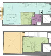 O2 Floor Plan by Singa I Contemporary Loft Style Apartment For Rent In Singapore