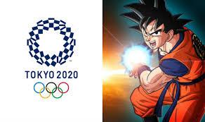 goku dragon ball 2020 tokyo olympics ambassador