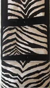 Zebra Shower Curtain by Amazon Com 3 Piece Bath Towel Set Black White Zebra Print Wash