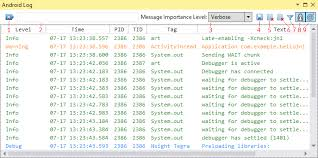android log nvidia gameworks documentation android log view