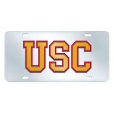 usc alumni license plate usc trojans ncaa license plates ebay