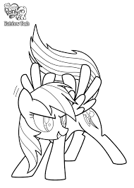 rainbow dash coloring pages printable kids coloringstar