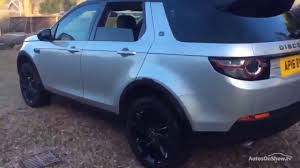 silver land rover discovery land rover discovery sport td4 hse black silver 2016 youtube