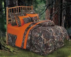 Camouflage Home Decor Amazon Com Hiend Accents Realtree Oak Camo Comforter Set Queen