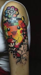 24 pokemon tattoos on sleeve