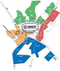 Race Map Of America by Race Day Parking Tickets The Speedway Club