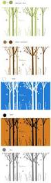 157 inch large tree wall decals stickers u2013 forest tour