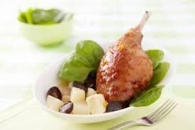 comment cuisiner cuisse de canard recette de cuisse de canard à l orange sanguine facile et rapide