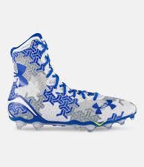 light blue under armour cleats men s ua highlight mc trion camo football cleats under armour us