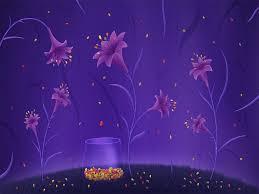 Purple Lillies Purple Lilies Flowers Backgrounds 1024x768px For Powerpoint Purple