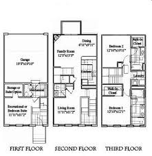 3 story townhouse floor plans the reserve rentals evansville in apartments