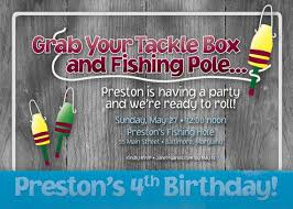 32 best fishing invites images on pinterest birthday party ideas