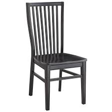 Dining Chair Ronan Rubbed Black Dining Chair Pier 1 Imports