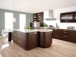 magnificent european style kitchen cabinets with dark brown color