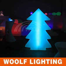 modern design plastic christmas tree shape led holiday decorative
