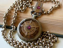 necklace with watch pendant images Steampunk pocket watch gothic jewelry watch pendant jpg