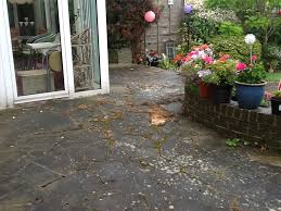 How To Remove Lichen From Patio Driveway And Patio Cleaning Services Northants Workhistorypatios