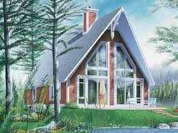 small a frame house plans a frame house plans and this 008d 0139 front 8