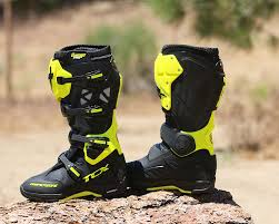 tcx motorcycle boots tcx comp evo michelin boot dirt bike test