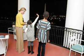 White House Tours Obama by Jenna Bush Hager Shares Photos Of Obama Daughters U0027 First White