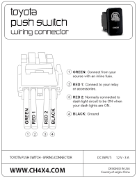 nissan frontier dash lights amazon com ch4x4 toyota push switch sasquatch lights symbol