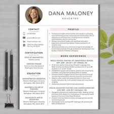 Teacher Resume Templates Word Resume Teacher Template For Ms Word Educator Resume Writing