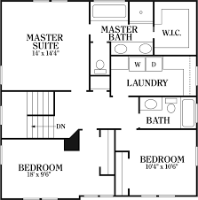 master bedroom house plans with two suites design basics