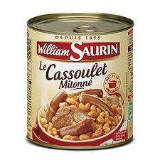 cuisiner un cassoulet le cassoulet plats préparés et cuisinés par william saurin